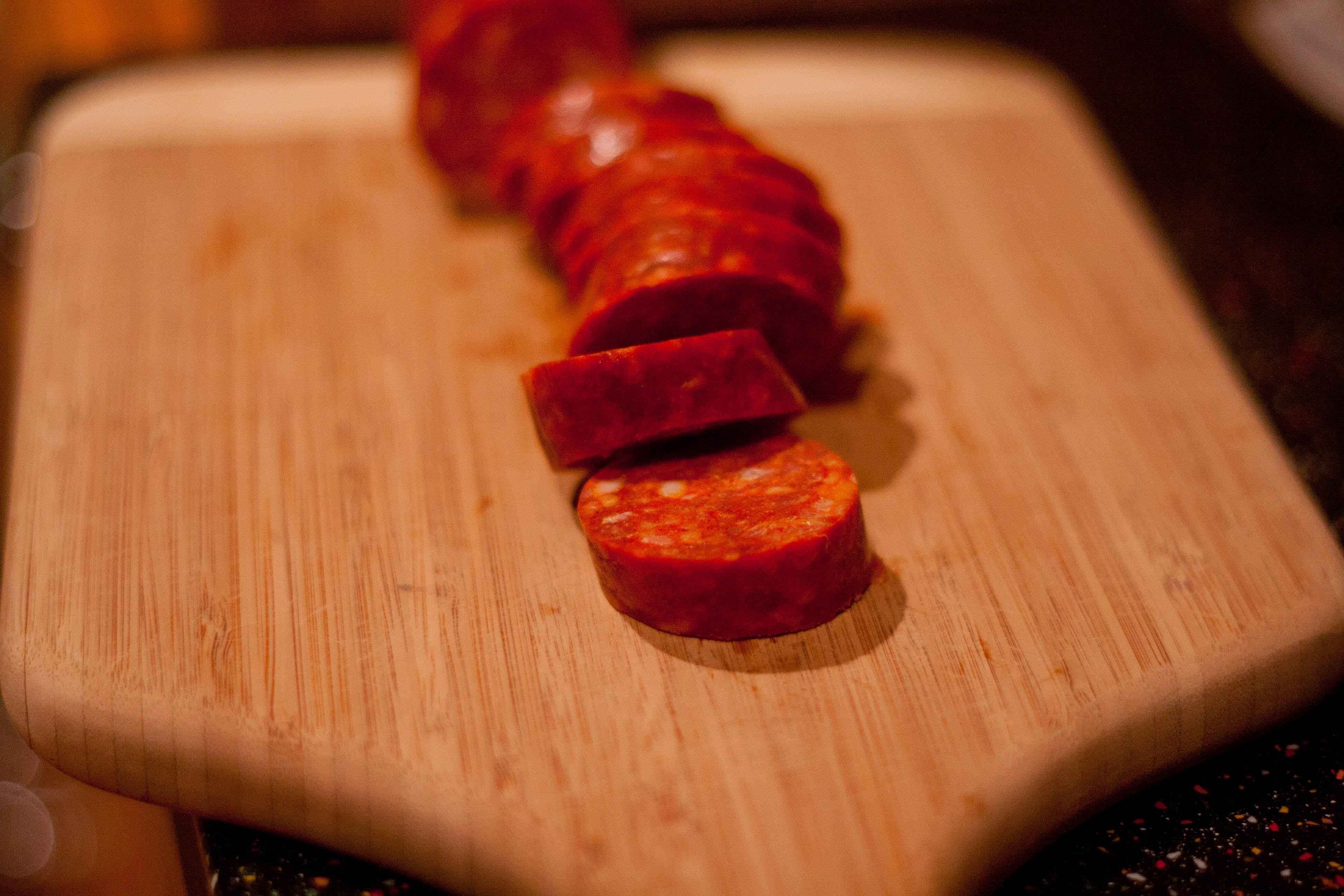 Chorizo Al Vino Tinto Chorizo In Red Wine Recipes Tapas Chorizo