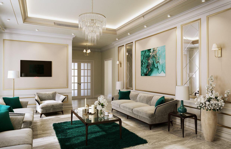 American Style House Interior Design In Dammam Dekorasi Rumah Rumah Denah Rumah