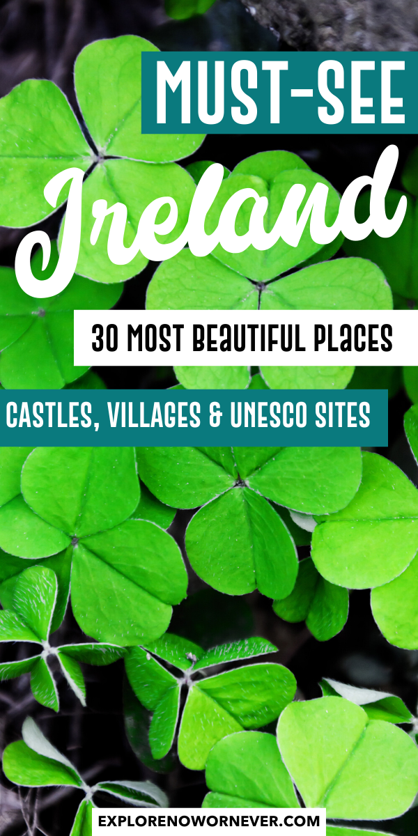 30 Most Beautiful Places in Ireland