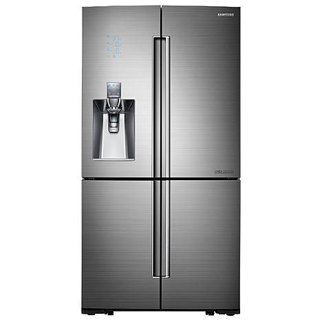 Samsung RF24J9960S4/AA 24.1 cu. ft. Counter Depth 4-Door Flex Chef Collection Refrigerator - Stainless Steel