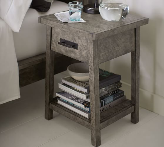 8c225ad57a Mateo Nightstand, Salvaged Black in 2019 | Future house! | Reclaimed ...