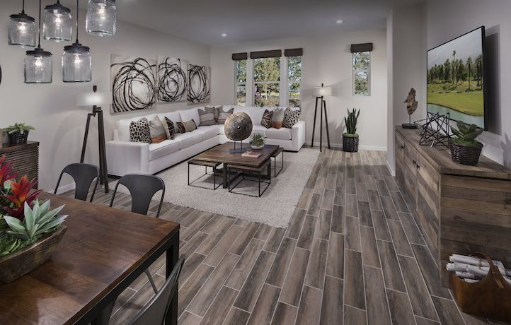 Rowland Residence 1 Living Space New Homes Real Estate Lennar