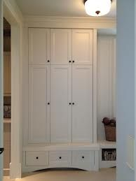 Mudroom Locker With Doors Google Search Small Mudroom Ideas