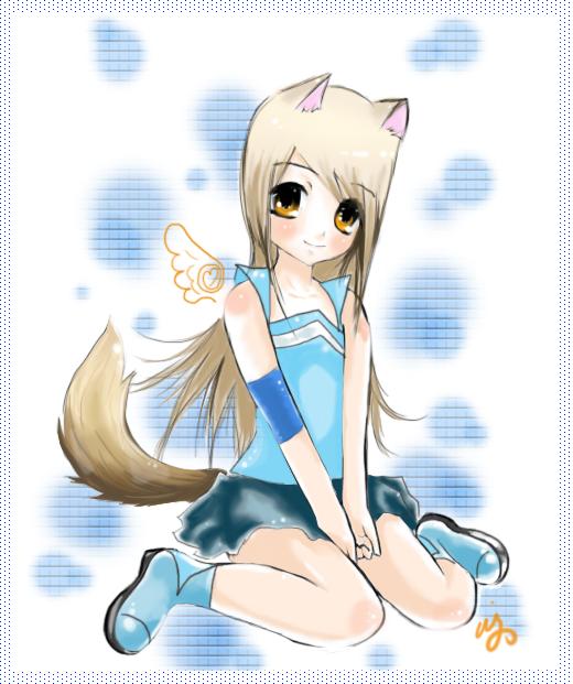 how to draw chibi wolf girl 31521 usbdata