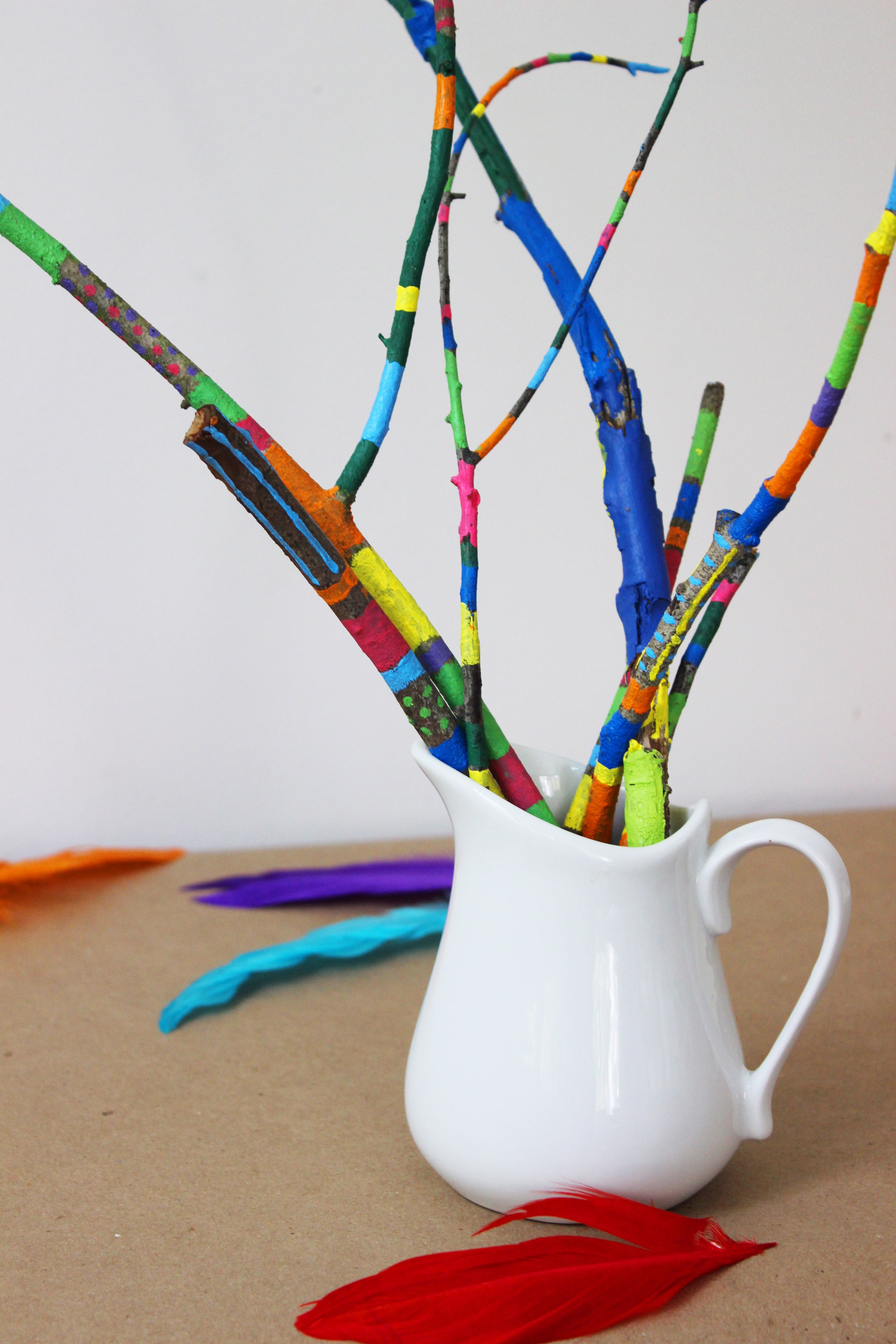 simple and colorful earth day crafts for kids fun family art