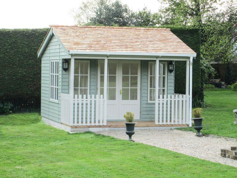 42 x 36m garden room with veranda - Garden Sheds With Veranda