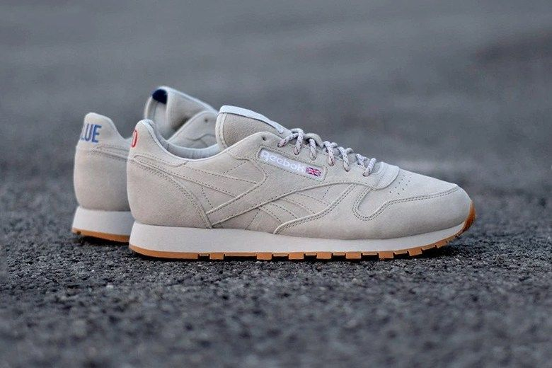 25aa537906242 ... suede gum sole sneakers in. Reebok Classic Leather Shoes   Sneakers