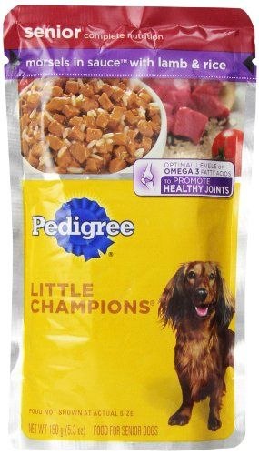Pedigree Little Champions Healthy Maturity Morsels In Sauce With