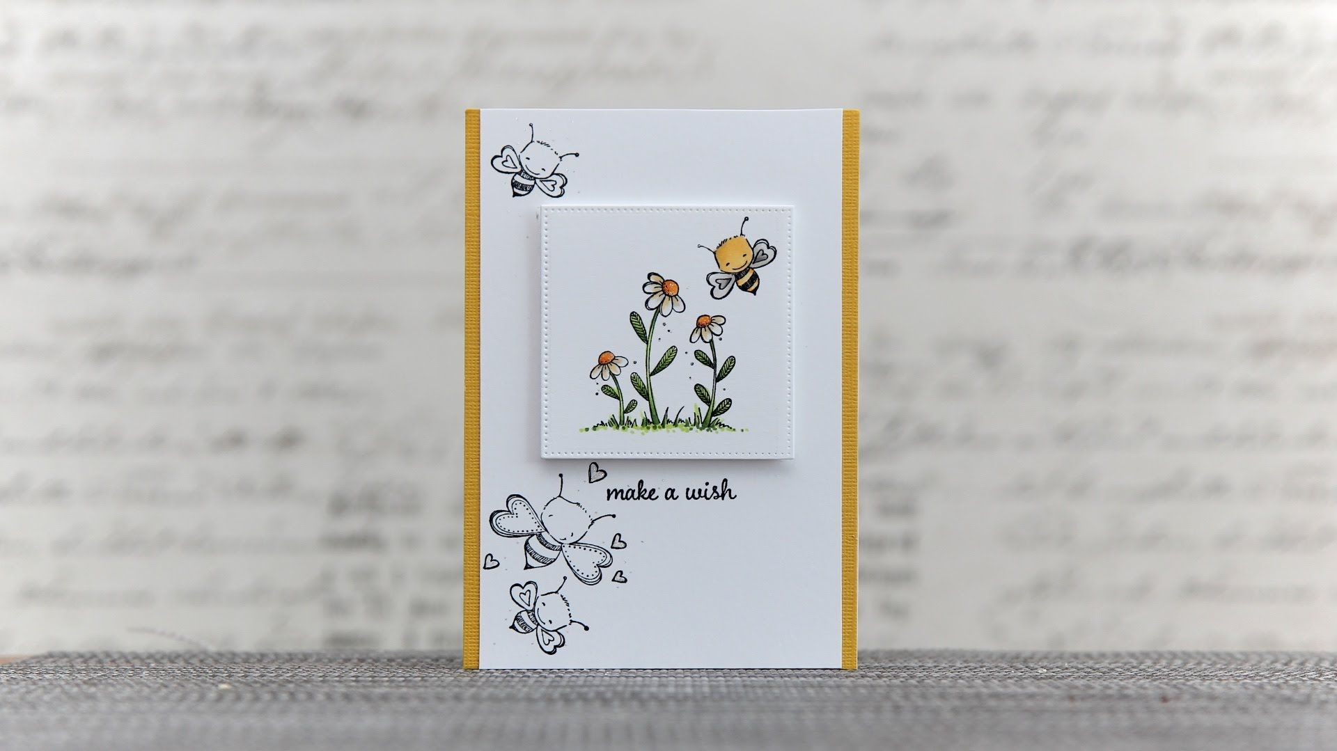 Purple Onion Designs' Bees with Copic Markers