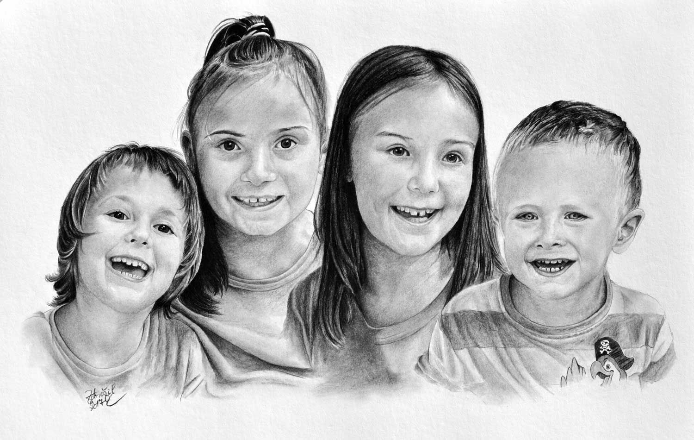 Skupinova Kresba Deti Radek Zdrazil Kresby Rezby Fotky