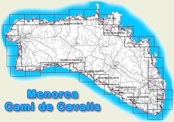 Menorca map Menorca Pinterest Menorca