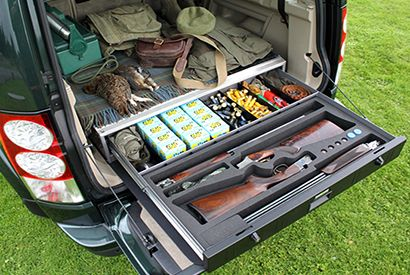 Vehicle Storage Drawers Gun Security Gun Cabinet Secure Vehicle