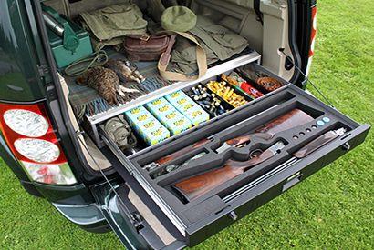 Vehicle Storage Drawers, Gun Security, Gun Cabinet, Secure Vehicle Drawers,  Gun Storage