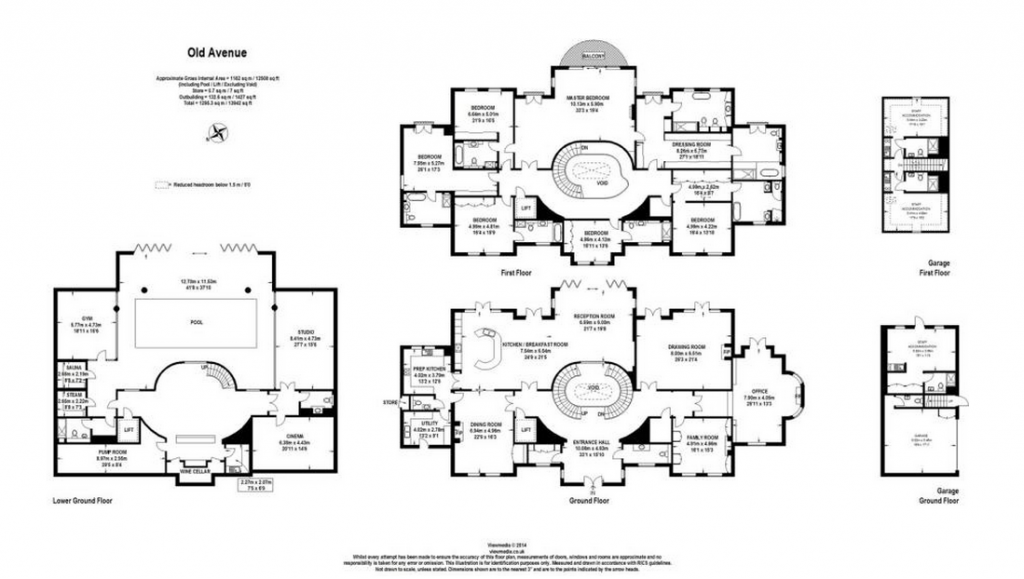 Highland House A 16 Million Mansion In Surrey England House Plans Mansion Bungalow Floor Plans Mansions