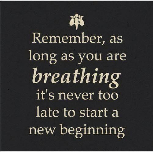 #quote new beginning