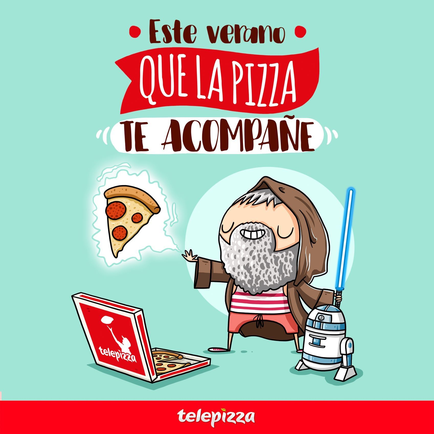 Este Verano Que La Pizza Te Acompañe Telepizza Pizza