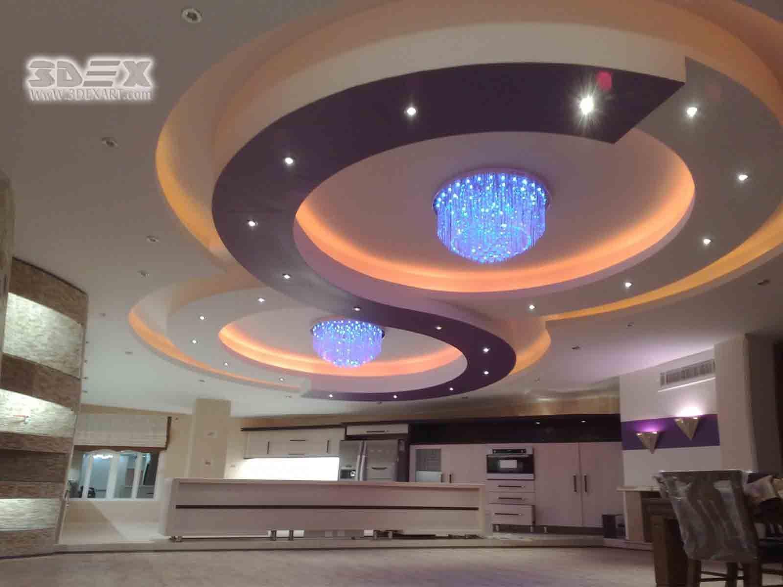 Latest false ceiling designs for hall Modern POP design ...