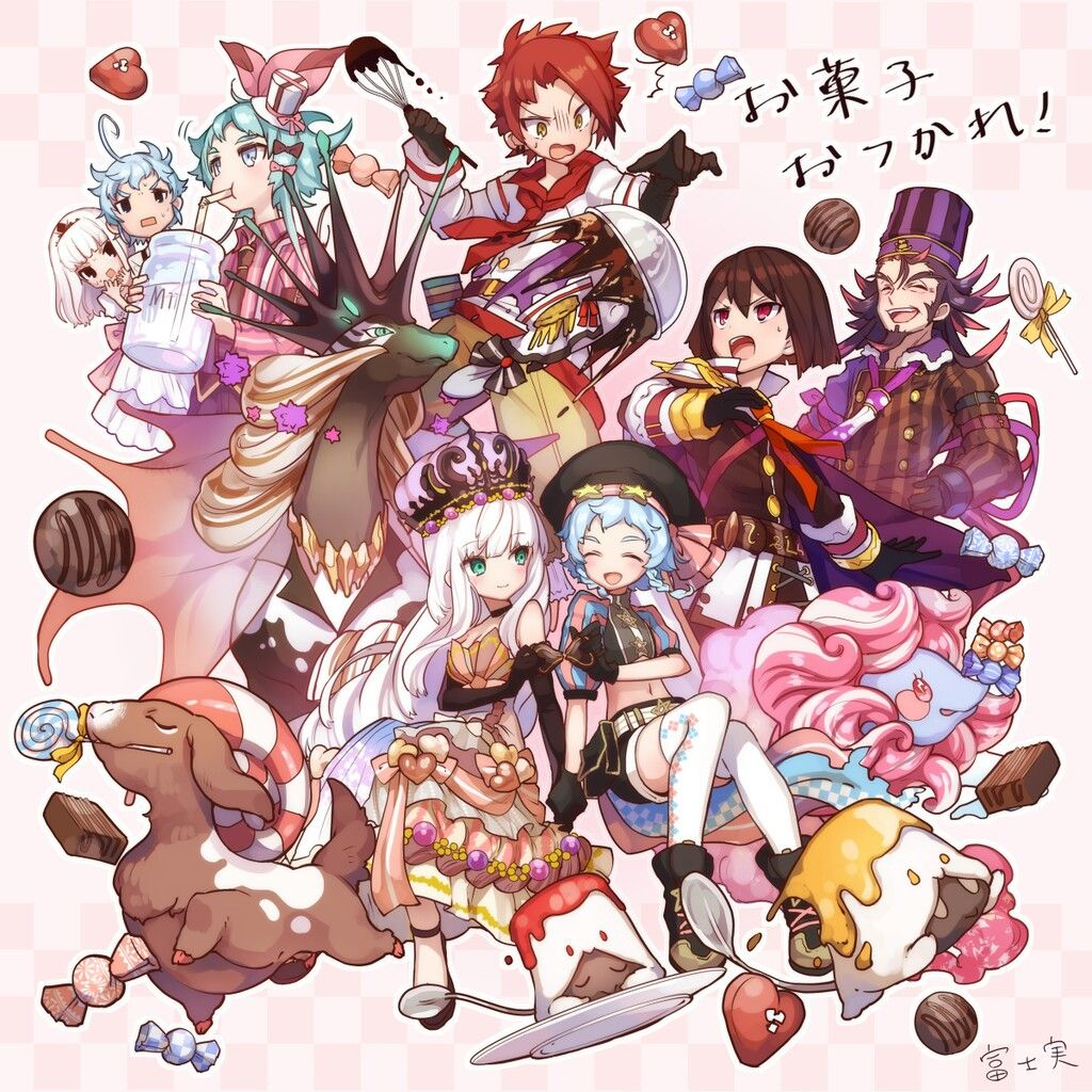 merc storia おしゃれまとめの人気アイデア pinterest linlin surya アニメイラスト イラスト お菓子の国