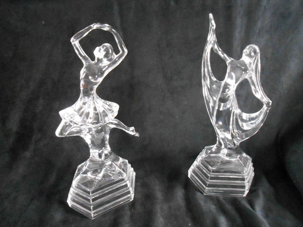 Coppia di ballerine in vetro oggetti moderni anno 2000 for Oggetti moderni