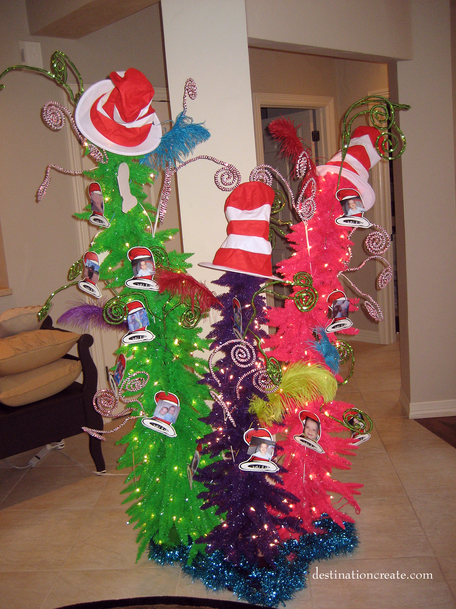 Dr Seuss Party Decorations Dr Seuss Twin Birthday Party Twin Thing One Thing Two And Denver