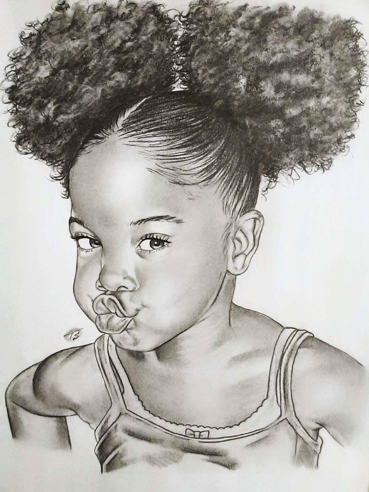 Black In Art Is Beautiful Black Girl Art Black Love Art