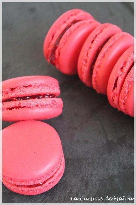 Recette Macaron Meringue Francaise Framboise Macaroons Pinterest