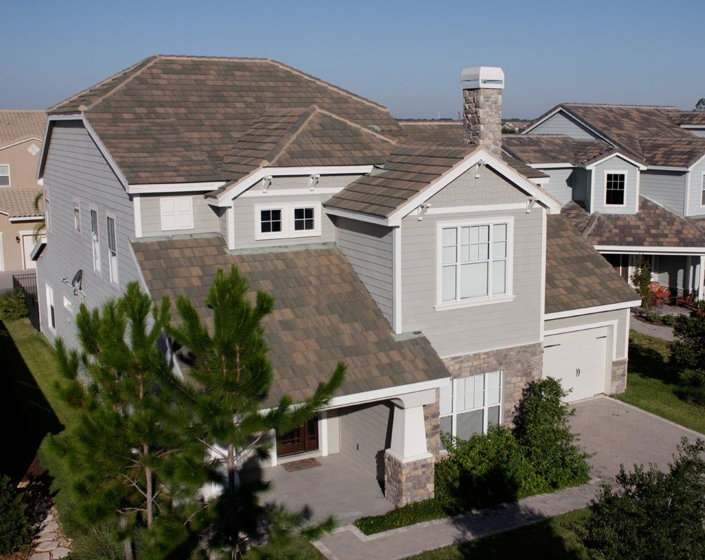 1634 Golden Eagle Kings Canyon Blend Roofing House Colors Concrete Roof Tiles