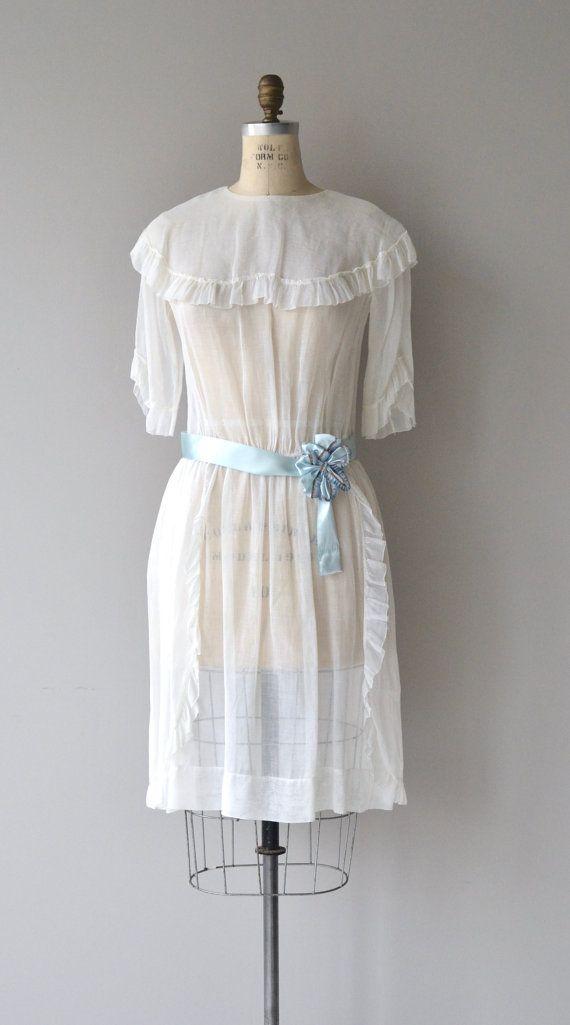 Petit Trésor dress | vintage 1920s dress | cotton voile 20s dress