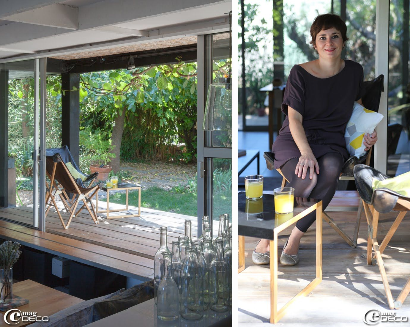 Salon De Jardin Chloé chloé sanier, créatrice de la marque marcelise