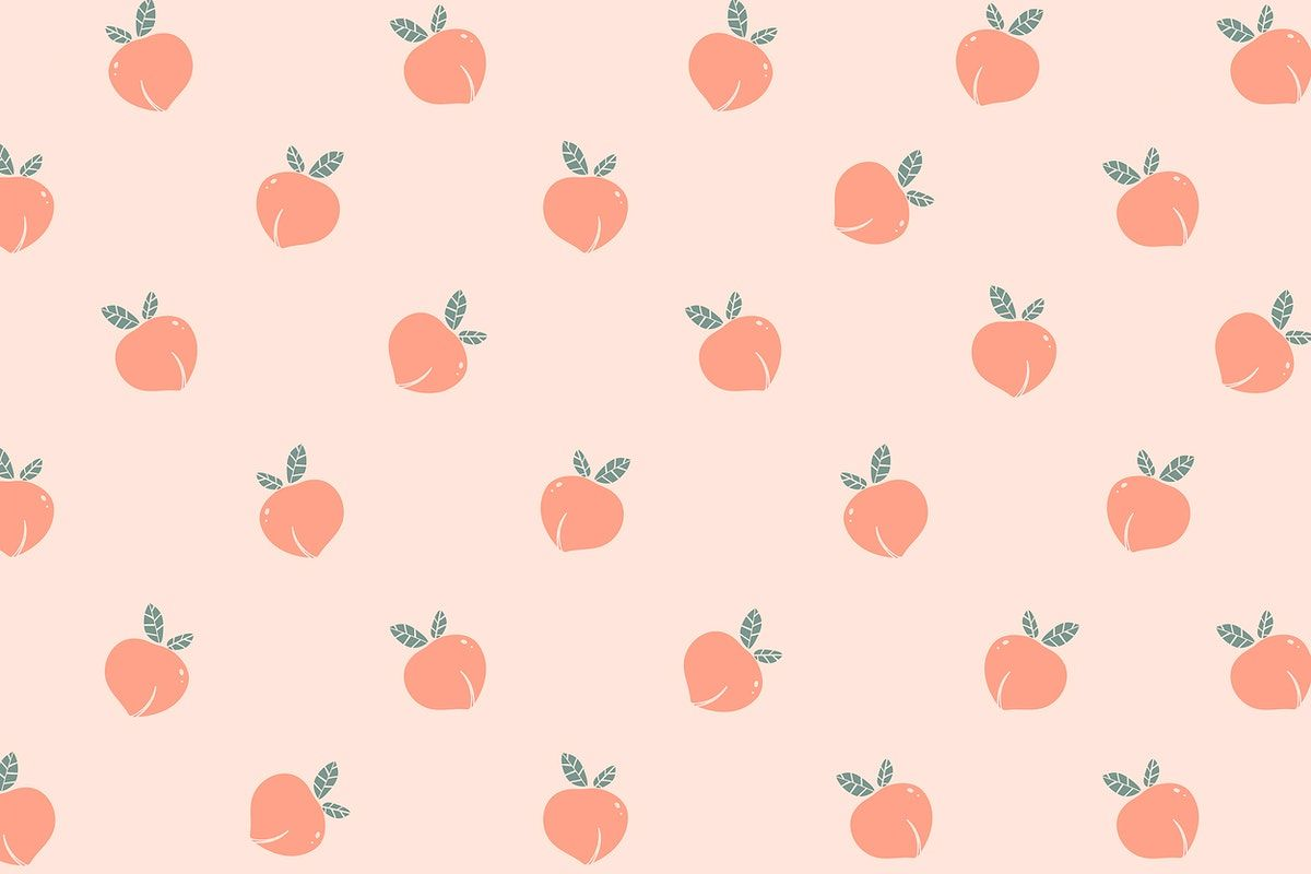 Download free image of Hand drawn peach patterned background by marinemynt about wallpaper, cute, peach, cute patterns, and peach backgrounds 2356770