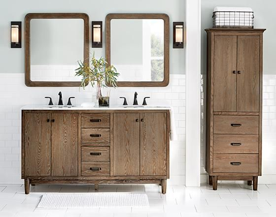Home Decorators Collection Brisbane 37 in. W x 22 in. D Bath Vanity ...