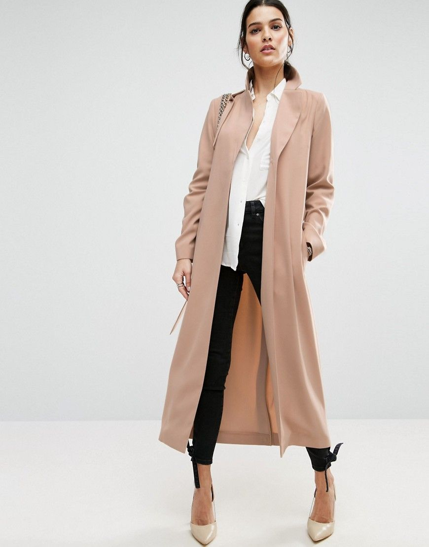 a43ff3b7f6f5 this blush duster coat is spot on for spring.   Style Inspiration ...