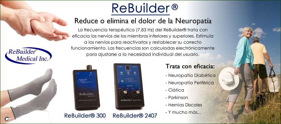 Productos naturales, Dra. Hulda Clark, Tratamiento Neuropatia, ReBuilder Medical. Terapia Celular y Medicina Alternativa,: Tratamiento Neuropatía