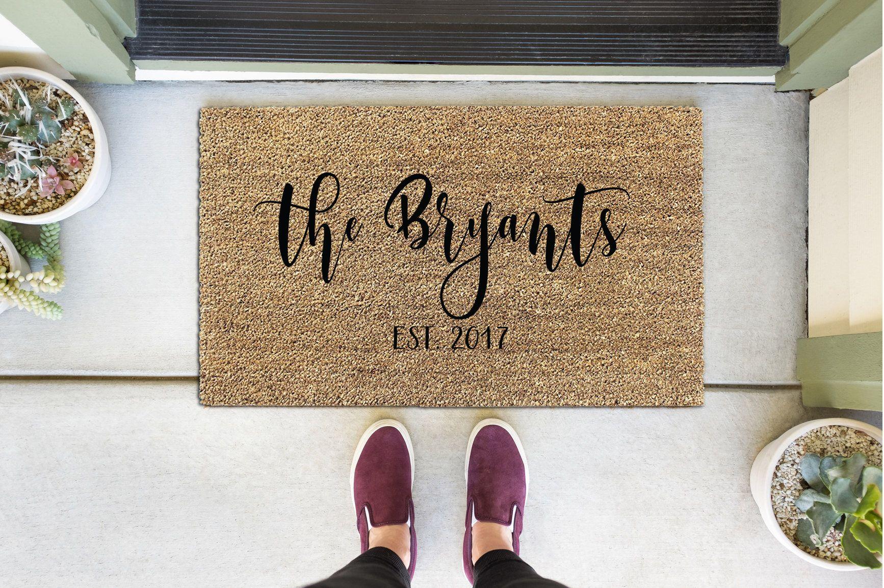 mats duluthhomeloan vanity doormat door every welcome outdoor doormats com personalized backyards mat attractive customized nfl for decor walmart uncommon
