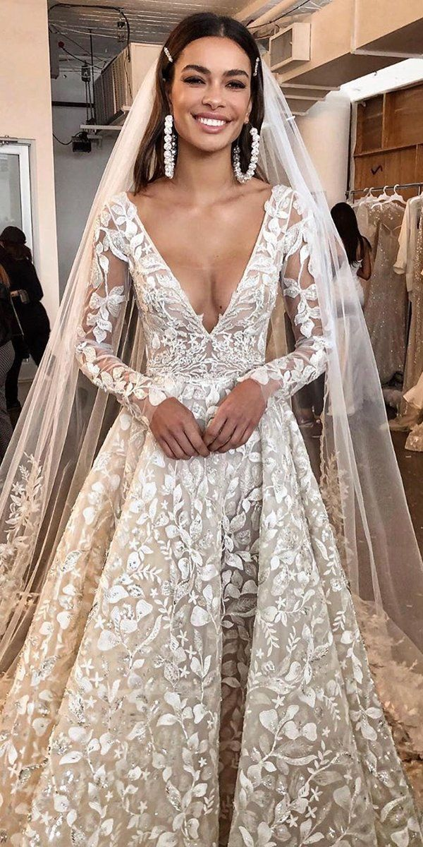 A-Line Wedding Dresses 2020/2021 Collections Overview | Wedding Forward #bertaweddingdress
