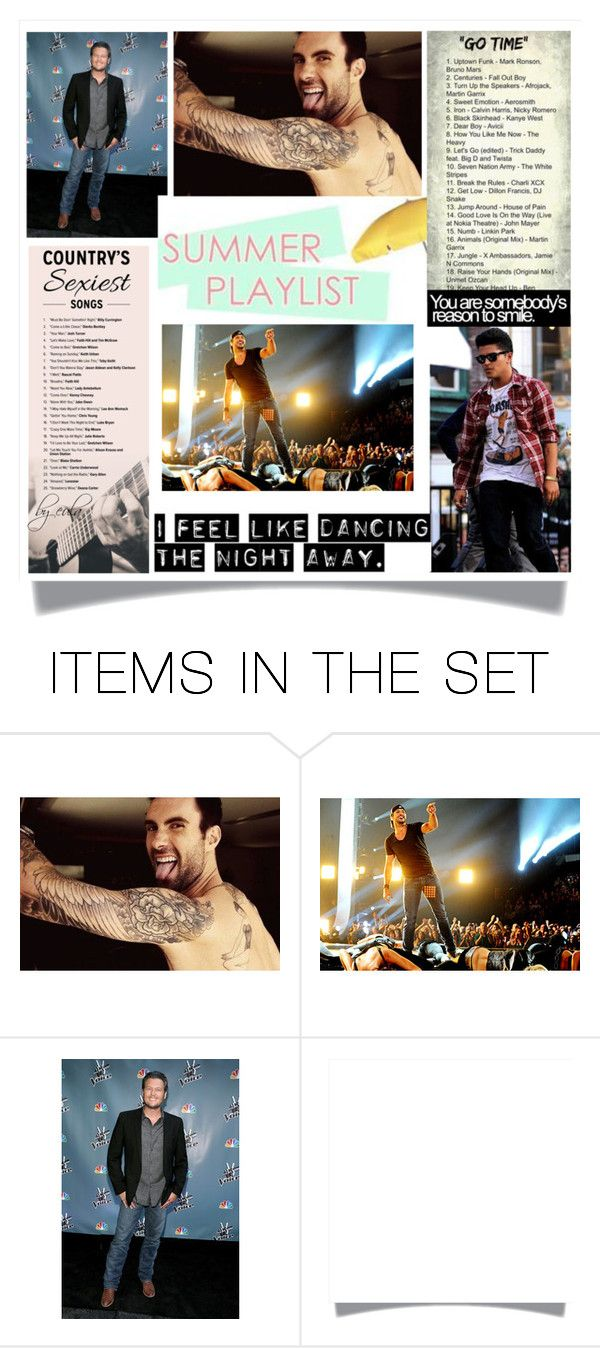 """""""What's Your Summer Playlist?"""" by eula-eldridge-tolliver ❤ liked on Polyvore featuring art, july, contestentry, artset, Summerplaylist and summer2016"""