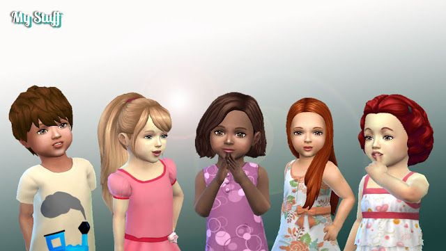 SIMS 4 TÉLÉCHARGER CHEVEUX BAMBIN