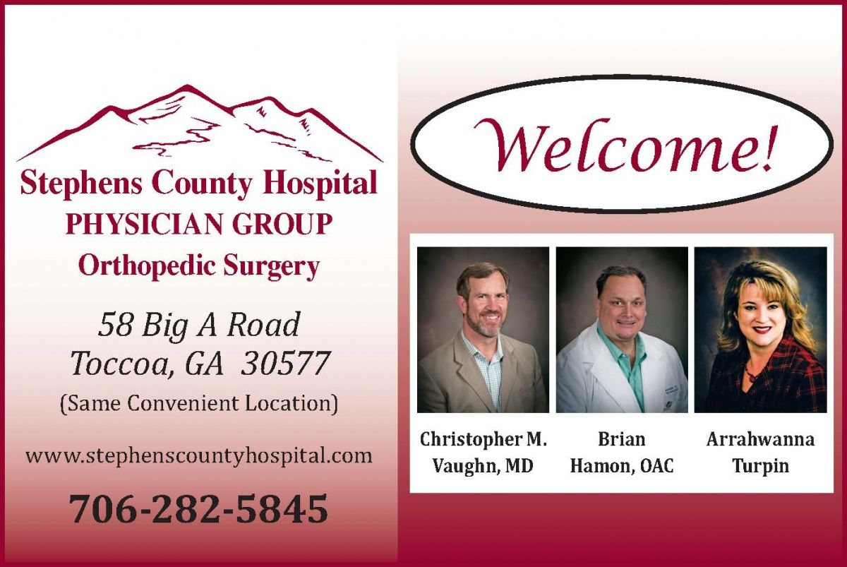 Orthopedic Surgery Welcome Christopher M Vaughn Md Brian Hamon