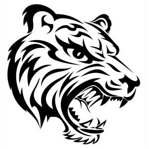 Wild Tiger Head Vector File Tiger Tattoo Tiger Tattoo Design Mens Tiger Tattoo