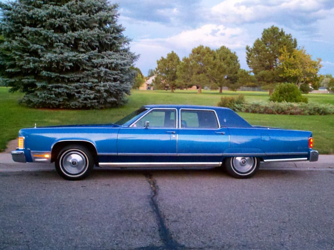 Lincolnmotorcar showcase badwf on instagram 1975 lincoln continental with the