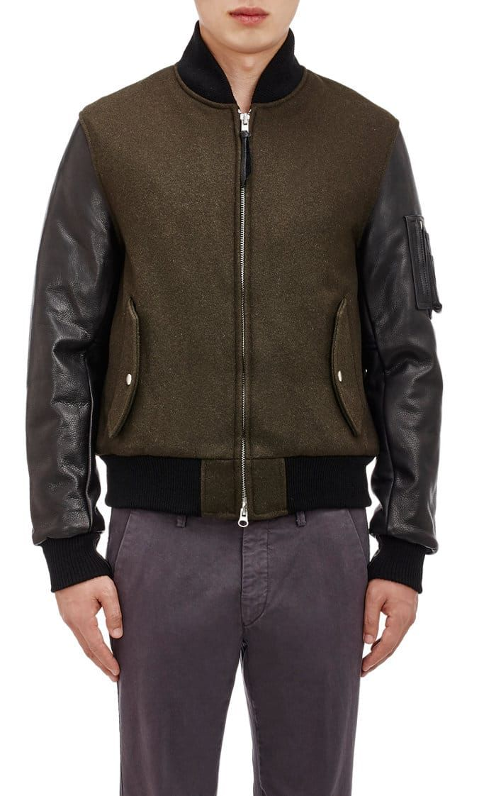 Brown Mens Baseball Jacket | Buys and Baseball jackets