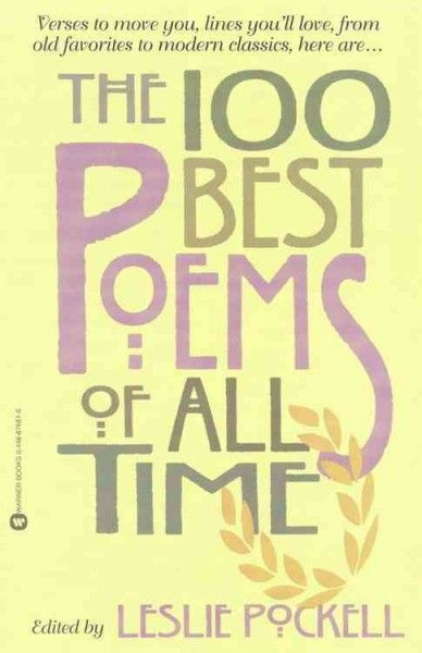 100 Best Poems Of All Time Http Library Sjeccd Edu Record