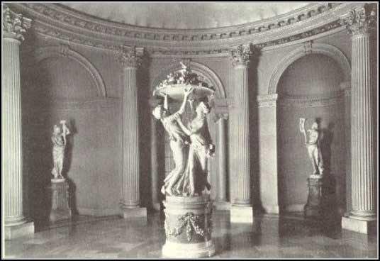 Whitemarsh Hall one of the rotundas