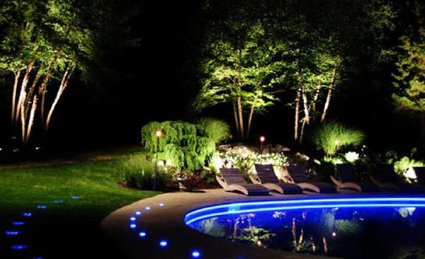 garden light design illuminate your garden to give it a festive appearance click for more creative - Landscape Lighting Design Ideas