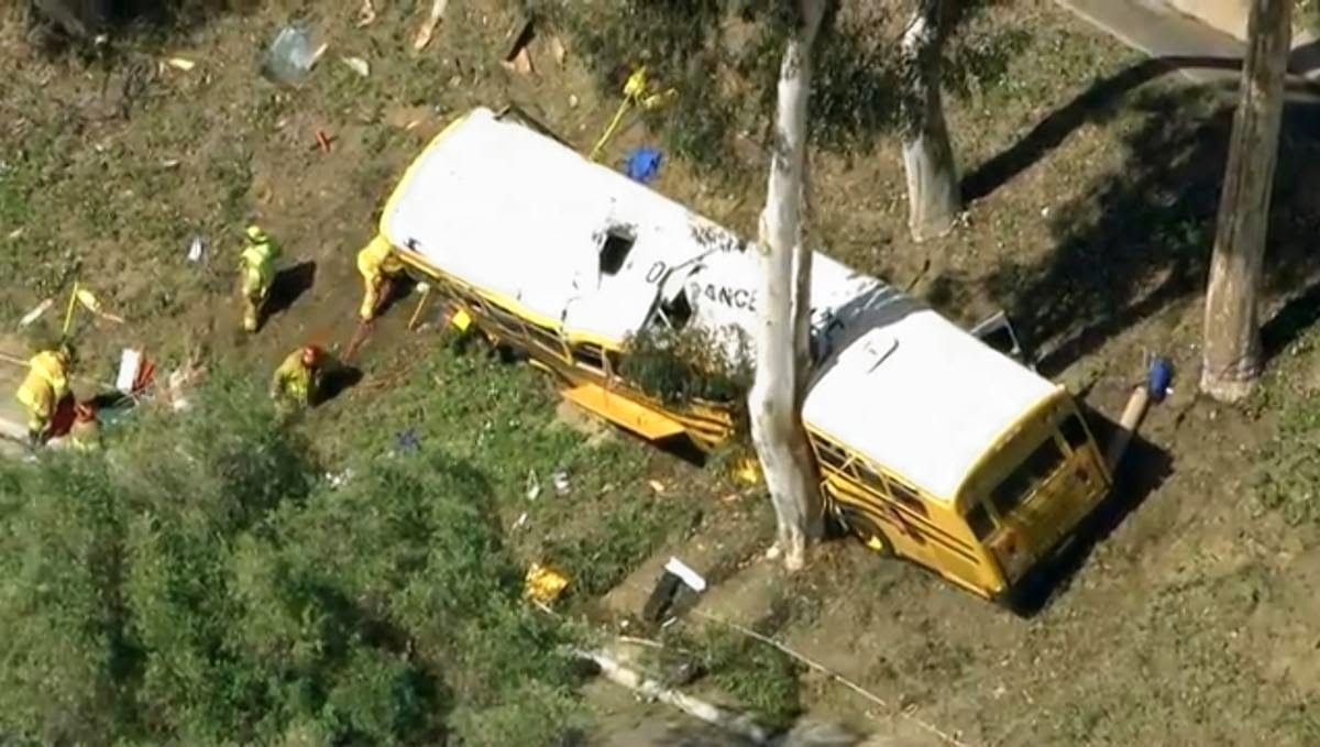 At least 12 injured, including several kids, after school