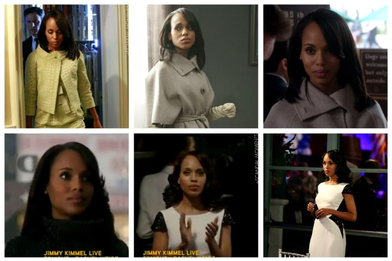 "scandalmoments:  Olivia Pope's New Hairstyle in ""Whiskey Tango Foxtrot"""