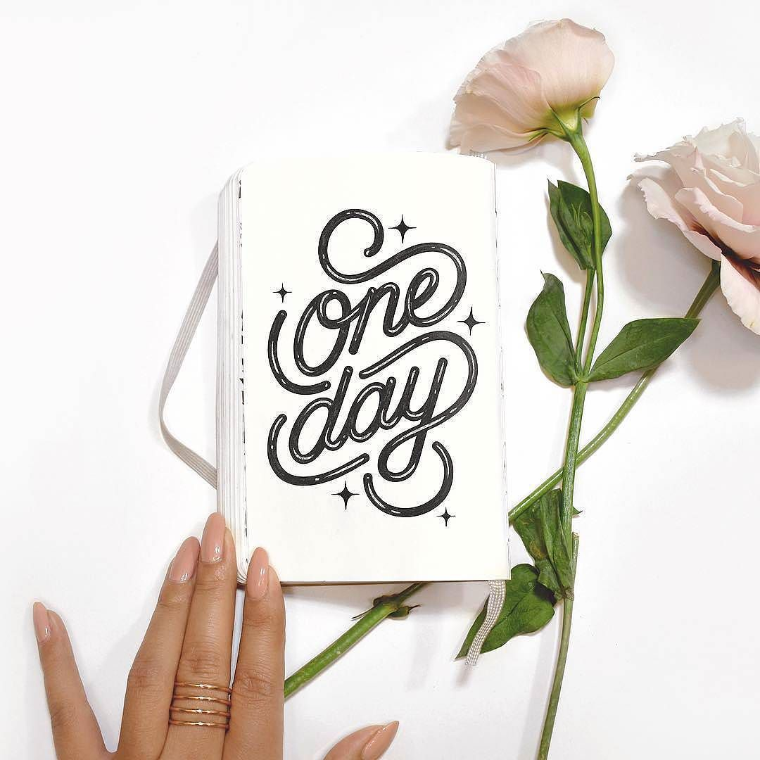 Beautiful lettering by @jessicanam - #typegang - free fonts at typegang.com | typegang.com #typegang #typography