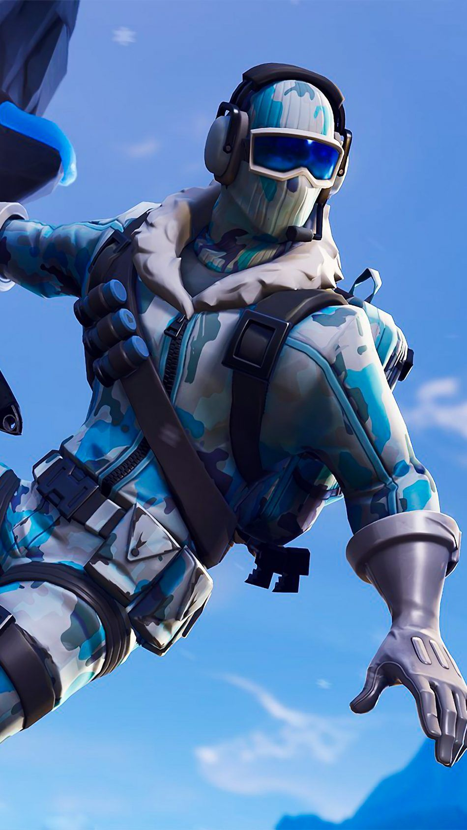 Fortnite Deep Freeze Bundle 4k Ultra Hd Mobile Wallpaper Best Gaming Wallpapers Gaming Wallpapers Gamer Pics