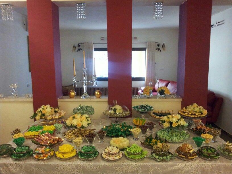 طاوله العيد Table Decorations Decor Table
