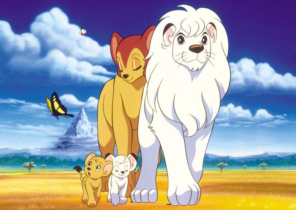 Kimba, el León Blanco (1965) ❤. Me encantan los leones blancos ...